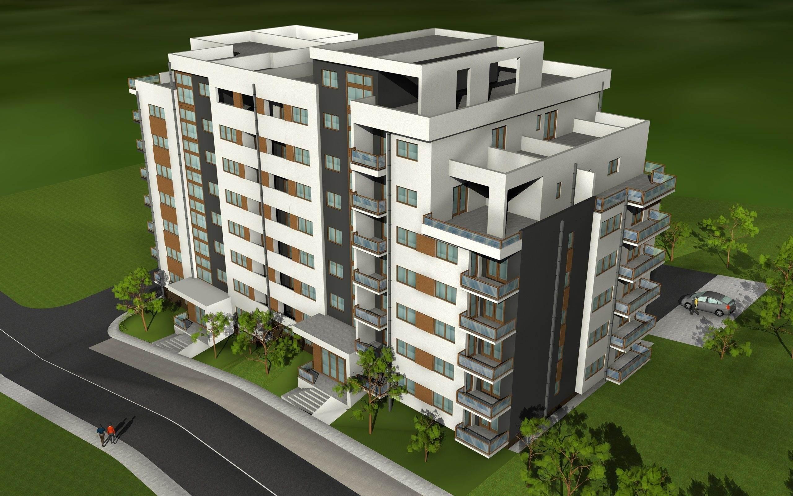 173449-Apartamente  semifinisate,de vanzare, Baciu