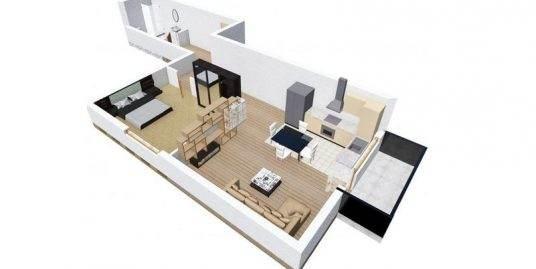 48.Apartament de vanzare, 2 camere, Dambul Rotund