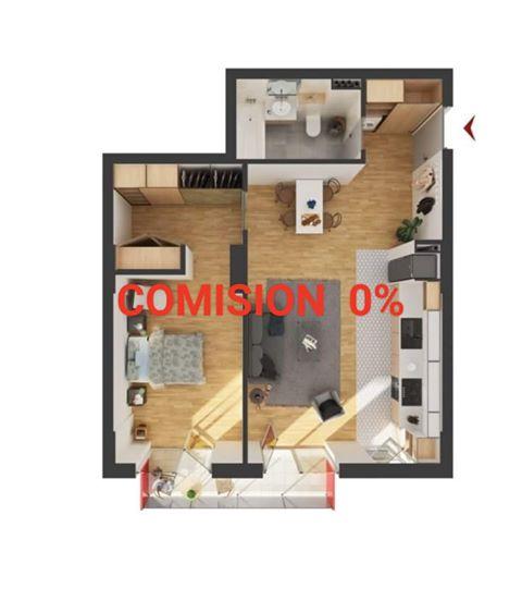183822-Vanzare apartament 2 camere, Bloc nou, Iris, Cluj-Napoca