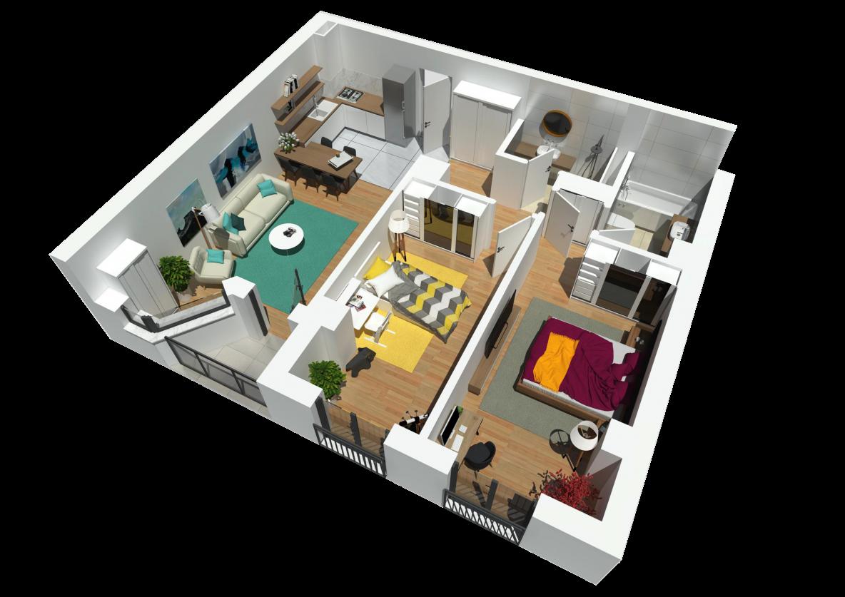 183174-17-Vanzare apartament 3 camere, Bloc Nou, Buna ziua, Cluj-Napoca