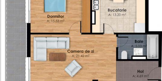 183793-Vanzare Apartament 2 Camere, Zona Garii, Cluj-Napoca